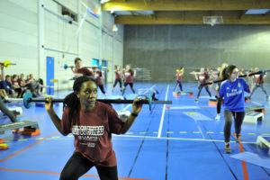 De nombreux étudiants pour la nuit du Fitness