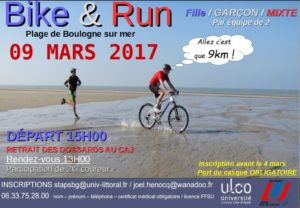 Résultats du Bike and Run de Boulogne