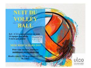 Nuit du Volley Ball – 14 mars 2018