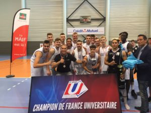 les Basketteurs de l'ULCO champion de France 2018