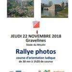 Challenge des AS – Course d'Orientation – 22 nov 2018
